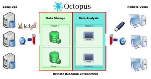 OCTOPUS Private REmote Research Environment